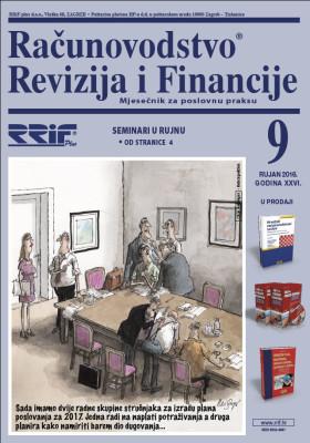 Časopis RRiF-a za mjesec rujan 2016.