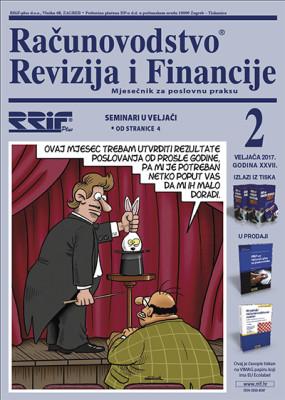 Časopis RRiF za mjesec veljaču 2017.