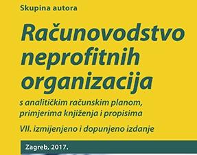 Novo izdanje priručnika Računovodstvo neprofitnih organizacija
