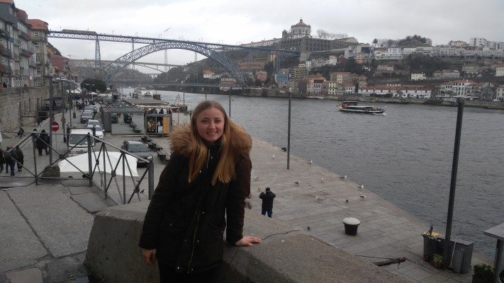 Studentica Suzana Brnadić na studijskom boravku u Portugalu